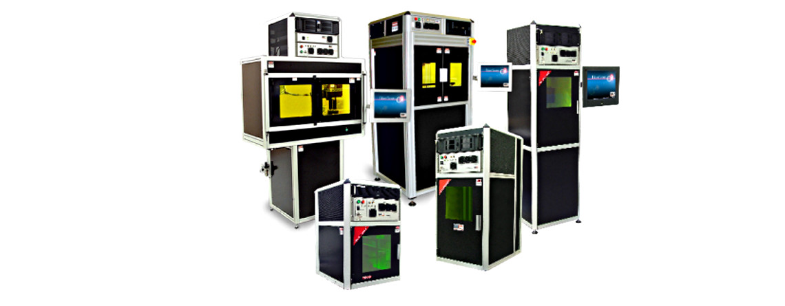 Laser Photonics Fiber and C02 Laser Marking, Engraving, Etching and Cutting Systems